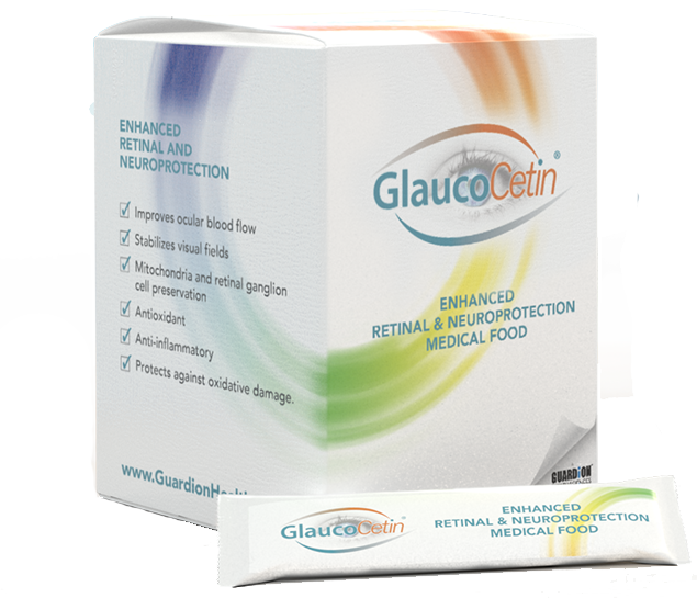 Glaucocetin retinal & neuroprotection medical food
